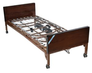 Delta™ Ultra-Light 1000, Full-Electric Bed with Full-Length Side Rails