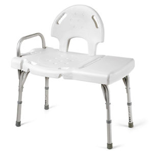 Invacare I Class Heavy Duty Transfer Bench Partially Assembled
