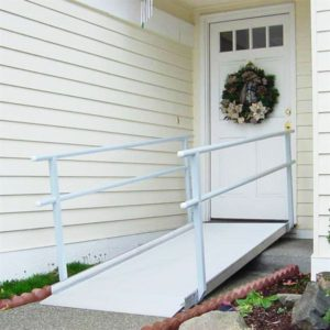 EZ-Access® Gateway Aluminum Wheelchair Access Ramp with Handrails