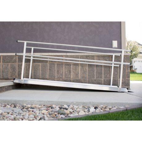 EZ-Access® Gateway Aluminum Wheelchair Access Ramp with Handrails