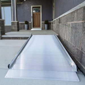 EZ-Access® Gateway Aluminum Wheelchair Access Ramp