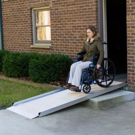 Silver Spring Aluminum Wheelchair Access Ramp